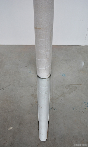 ALIGNED - tube en carton et miroir 2017