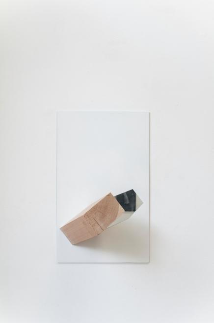 ALIGNED - Bois, miroir et acrylique 2016
